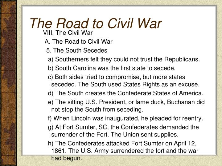 an analysis of the causes of civil war between the union and the confederacy American history civil war - economic causes to the civil war (known as the union) and the southern states (the confederate states of america).