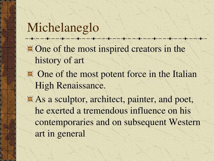 Michelaneglo