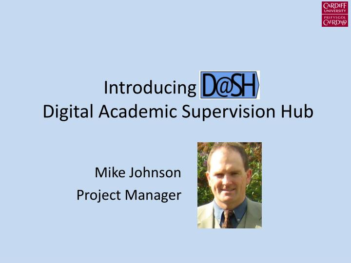 Mike johnson project manager