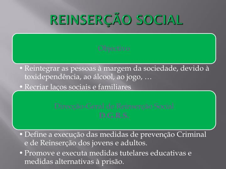 REINSERÇÃO SOCIAL