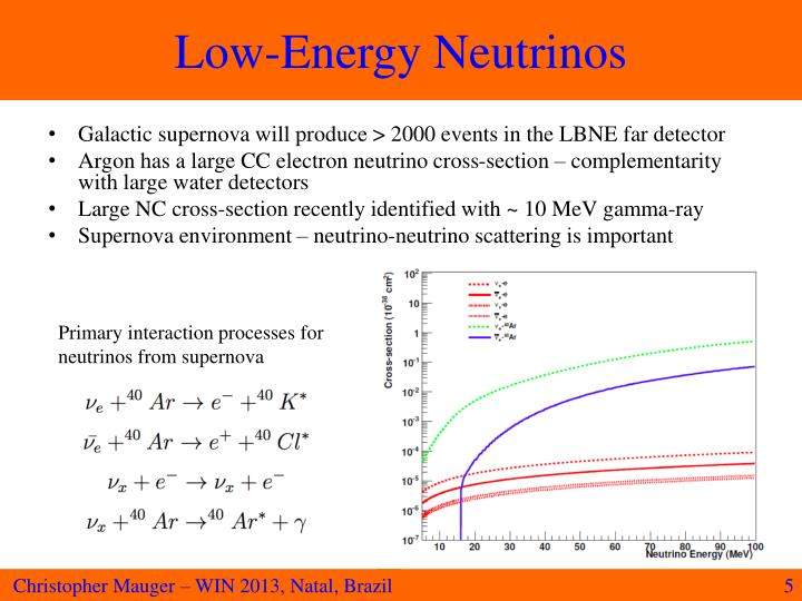 Low-Energy Neutrinos
