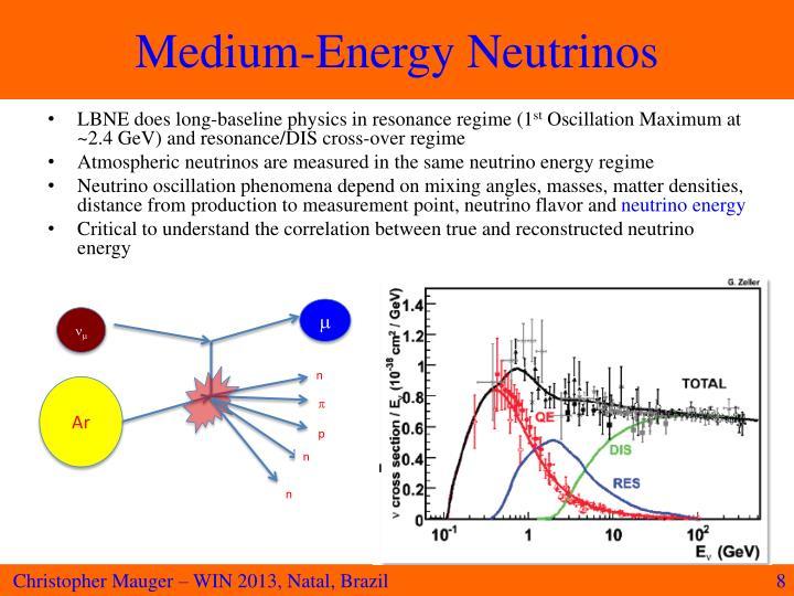 Medium-Energy