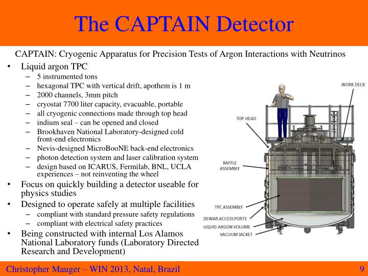 The CAPTAIN Detector
