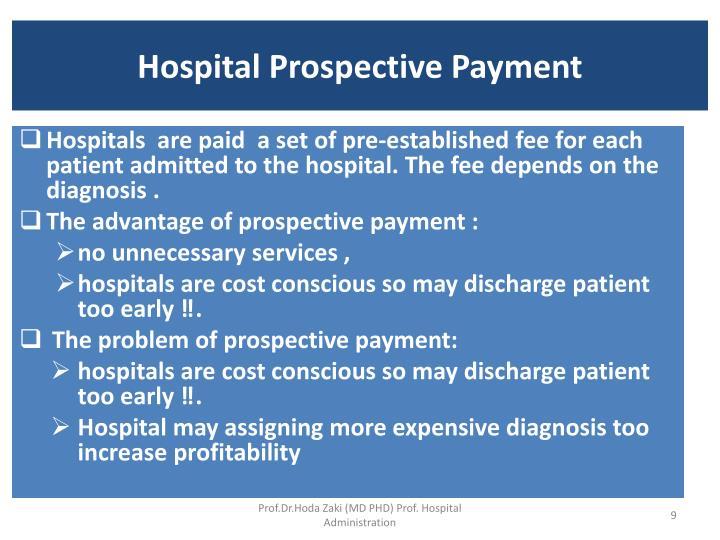 Hospital Prospective Payment