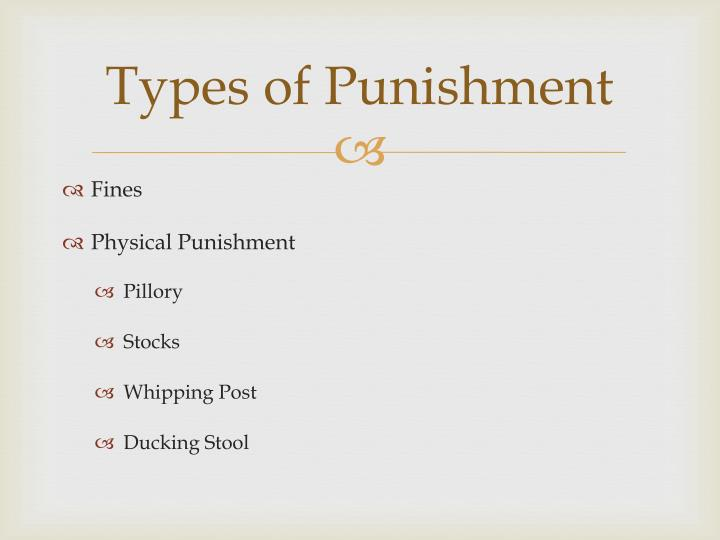 Ducking Stool Punishment Justice Penitentiary System