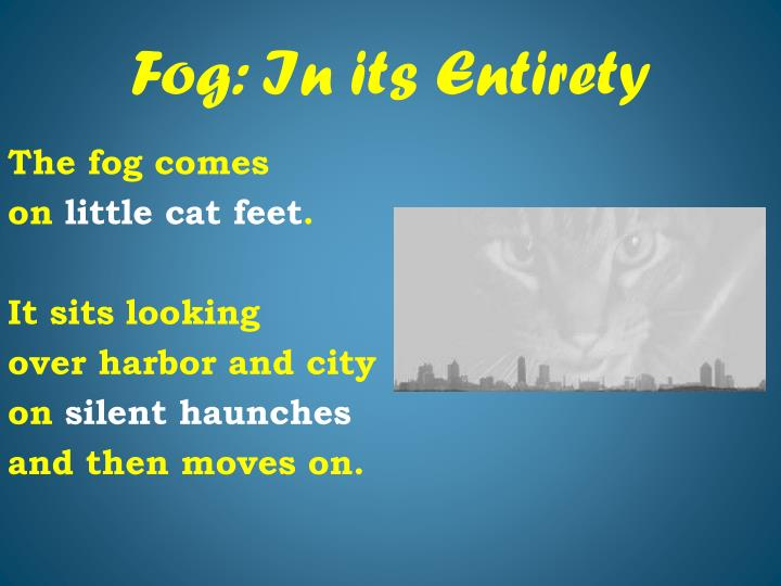 Fog: In its Entirety
