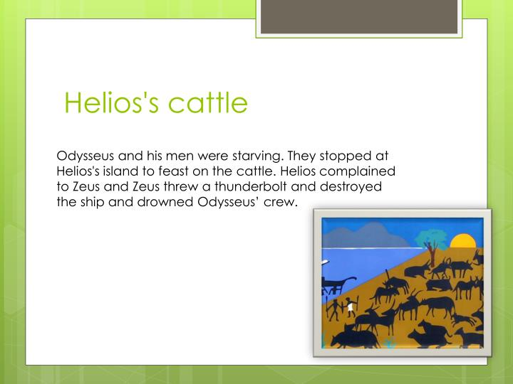 Helios's cattle