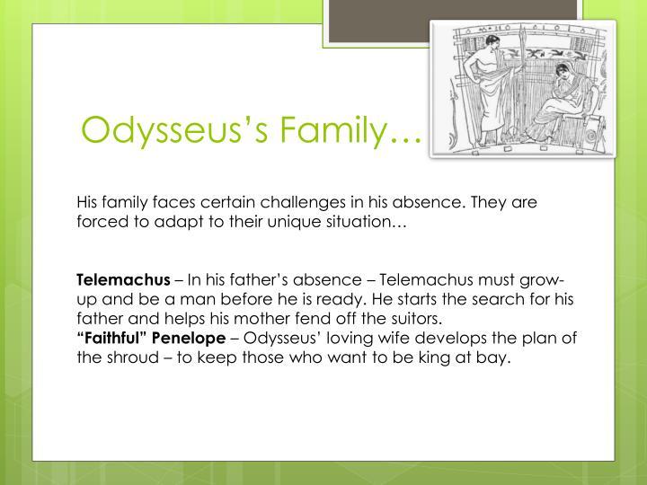 Odysseus's Family…