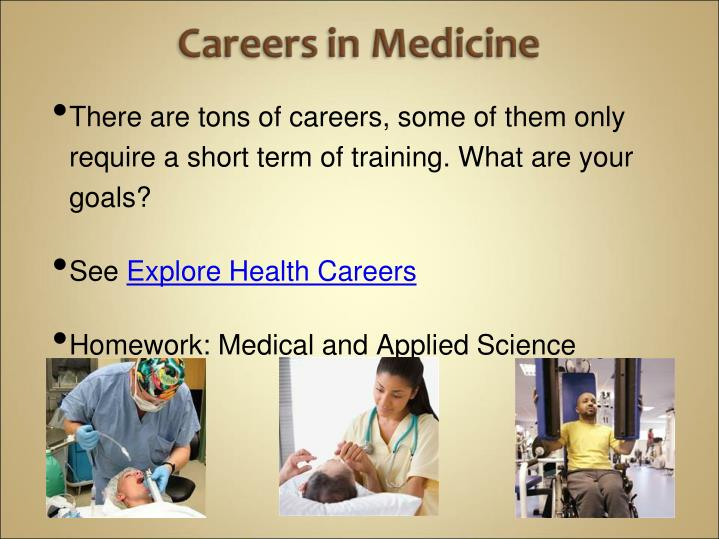There are tons of careers, some of them only require a short term of training. What are your goals?