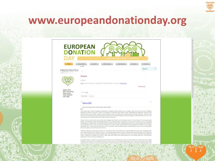 www.europeandonationday.org