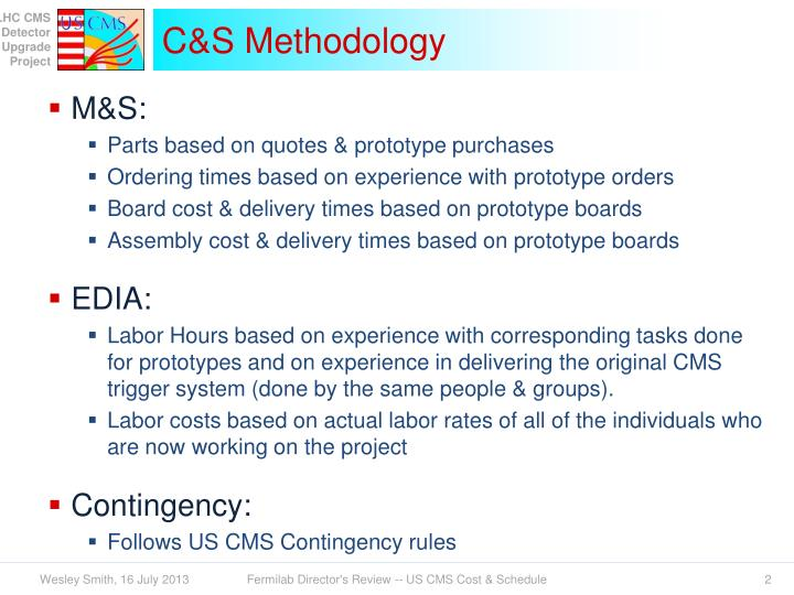 C s methodology