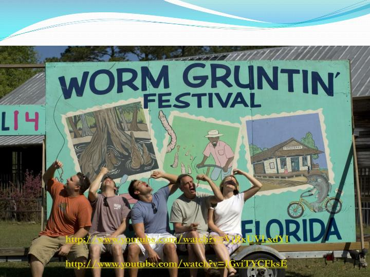 Worm Grunting/Charming