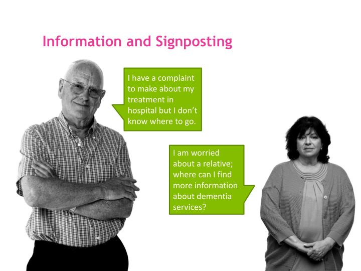 Information and Signposting