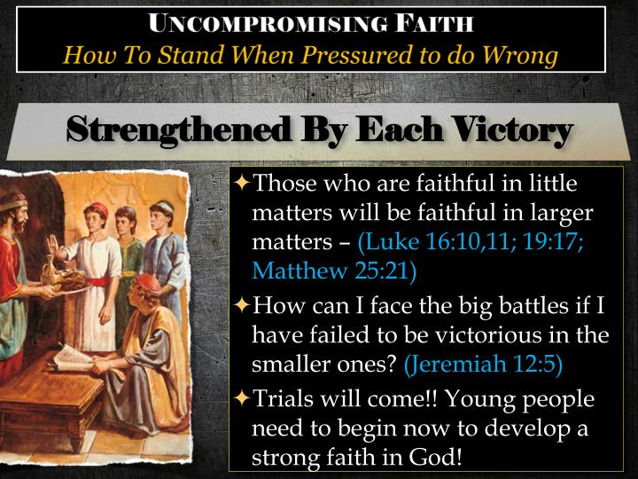 Strengthened By Each Victory