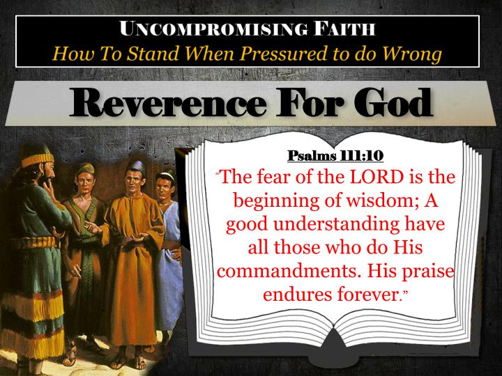 Reverence For God