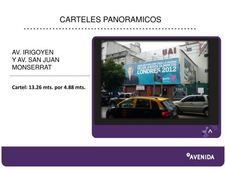 CARTELES PANORAMICOS
