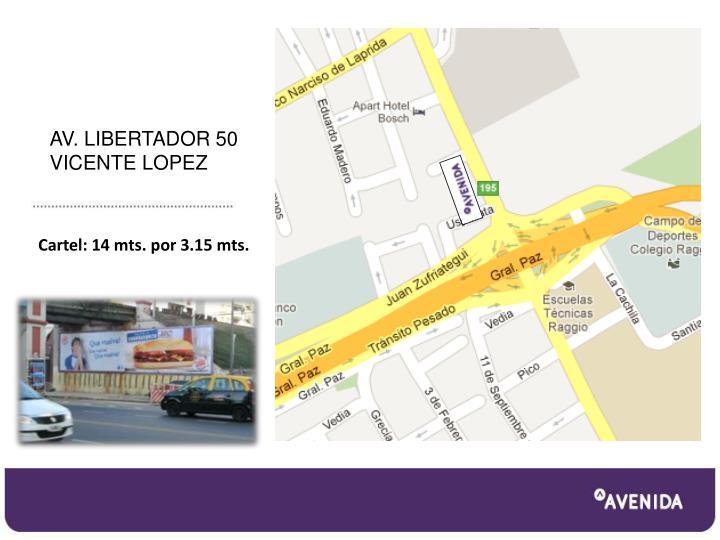 AV. LIBERTADOR 50