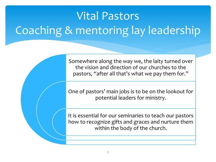 Vital Pastors
