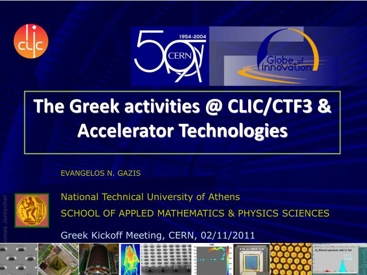The greek activities @ clic ctf3 accelerator technologies