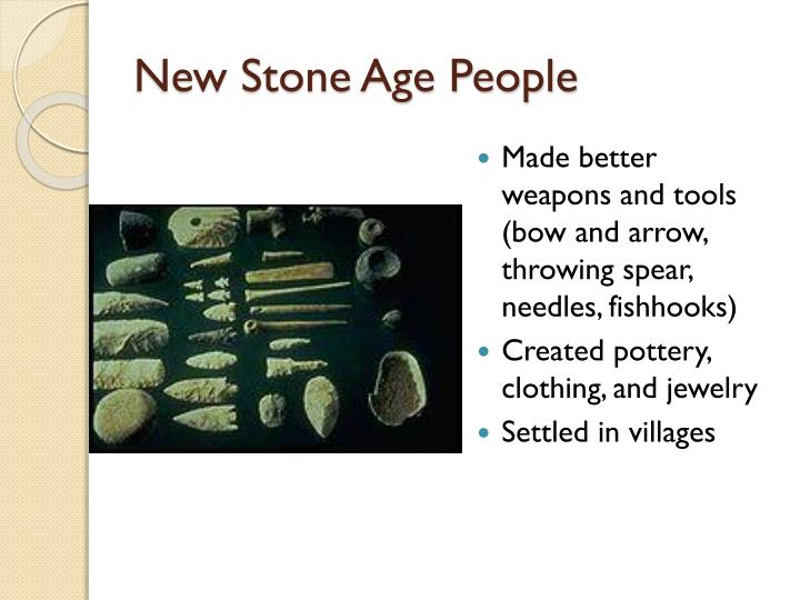 New Stone Age People