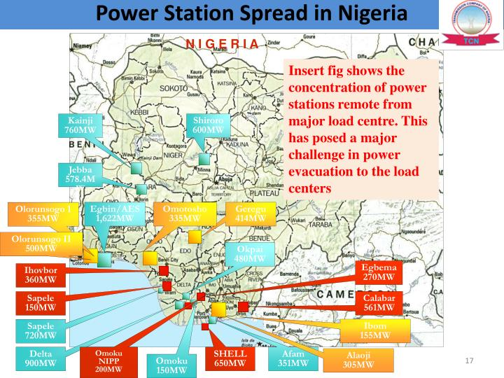 Power Station Spread in Nigeria