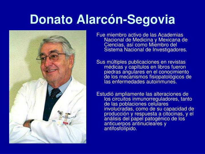Donato Alarcón-Segovia