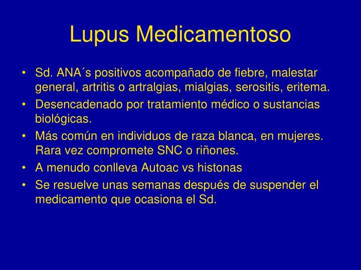 Lupus Medicamentoso
