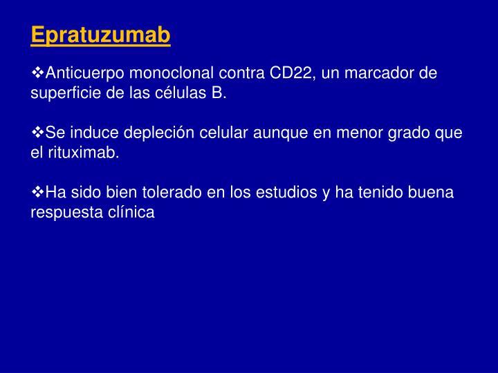 Epratuzumab