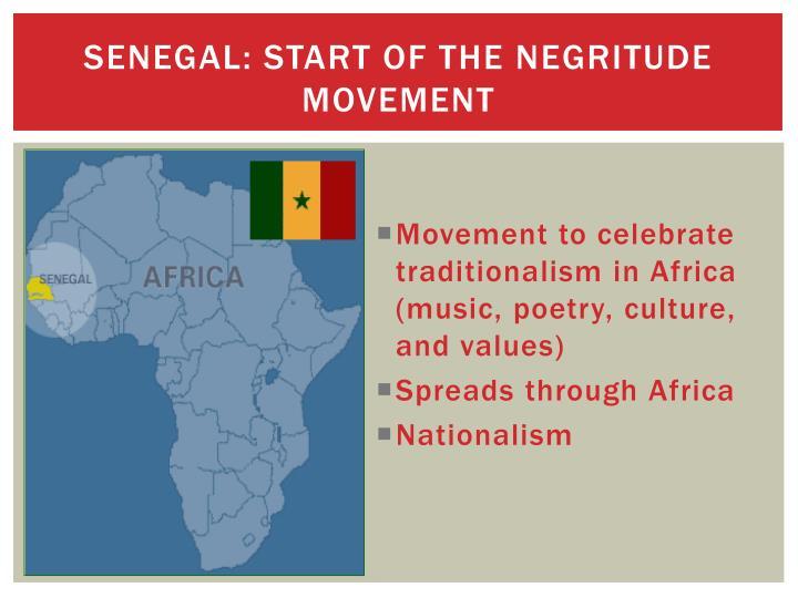 Senegal: Start of the negritude movement