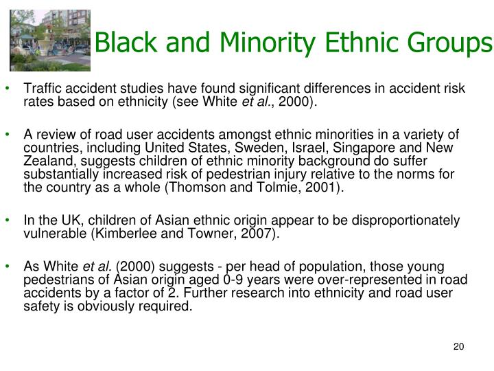 Black and Minority Ethnic Groups