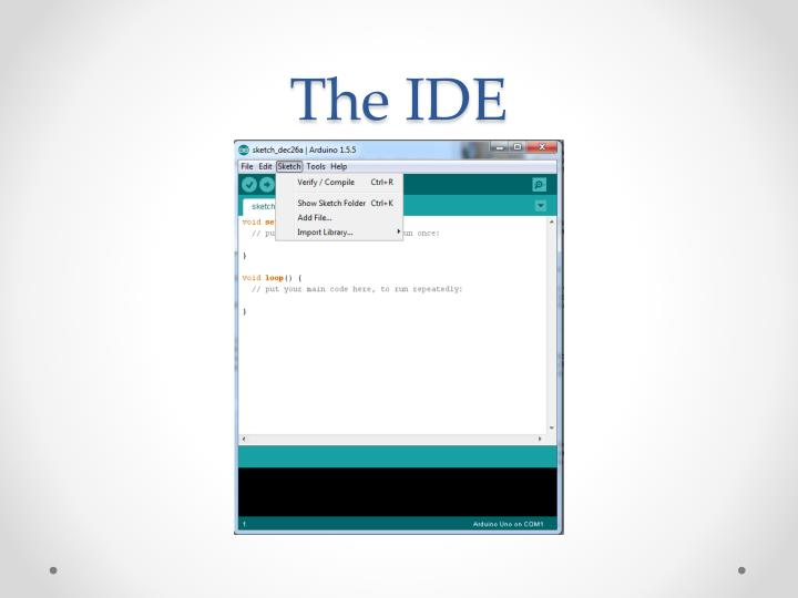 The IDE