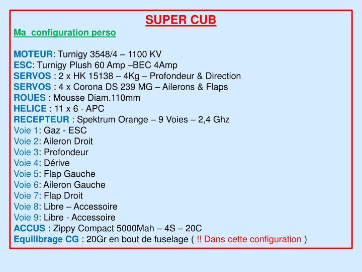 SUPER CUB