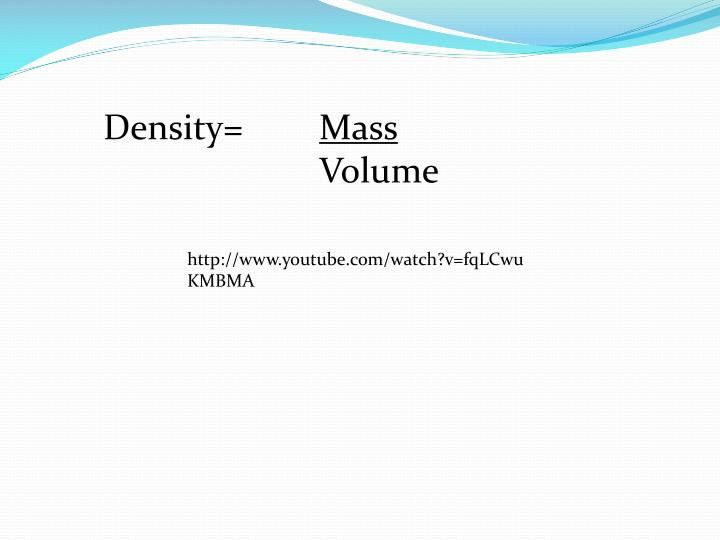 Density=