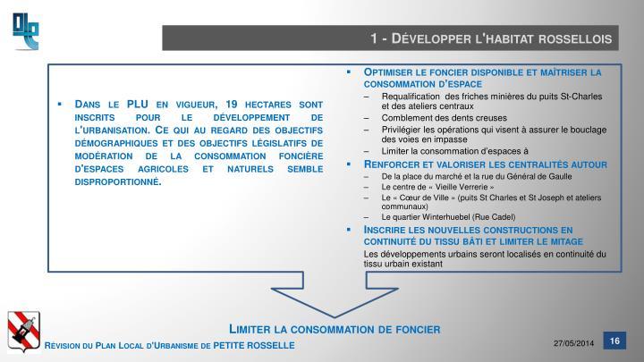 1 - Développer