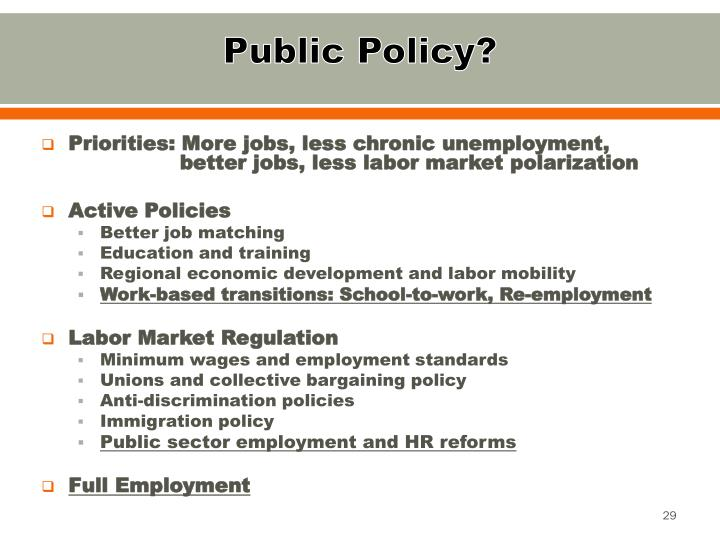 Public Policy?