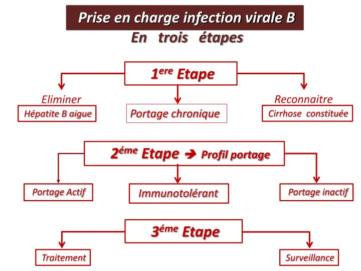 Prise en charge infection virale B