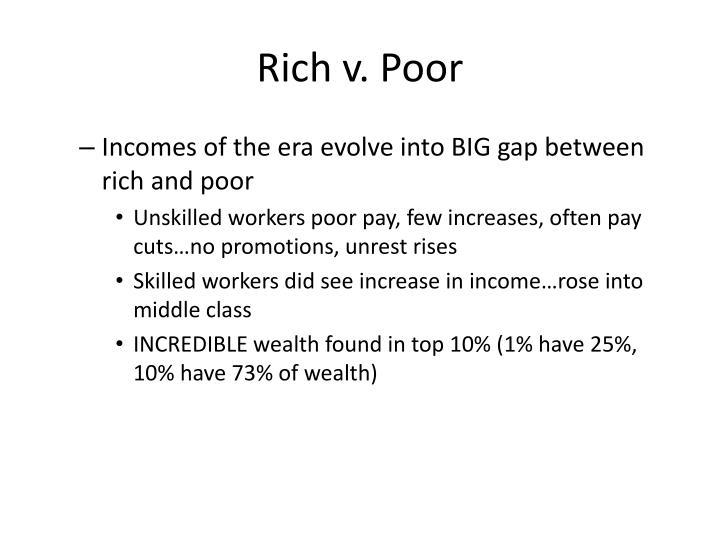 Rich v. Poor