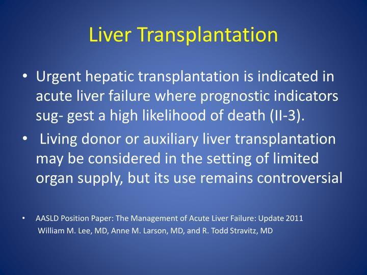 Liver Transplantation