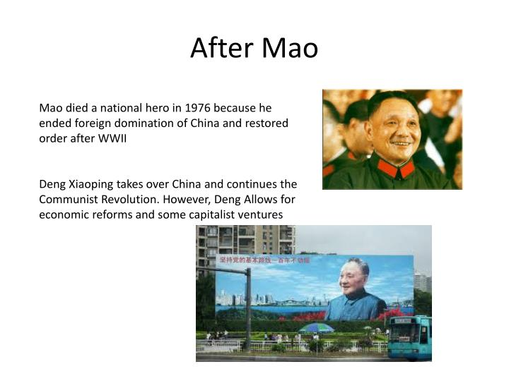 After Mao