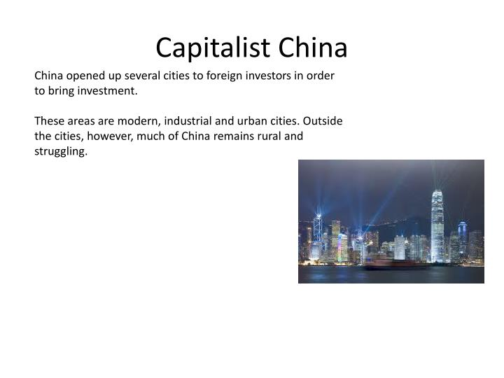 Capitalist China