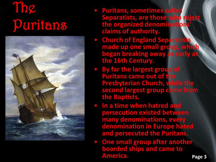 The puritans1