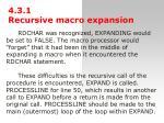4 3 1 recursiv e macr o expansion2