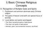 i basic chinese religious concepts