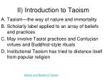 ii introduction to taoism