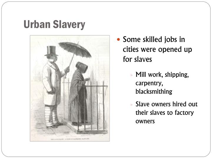 Urban Slavery