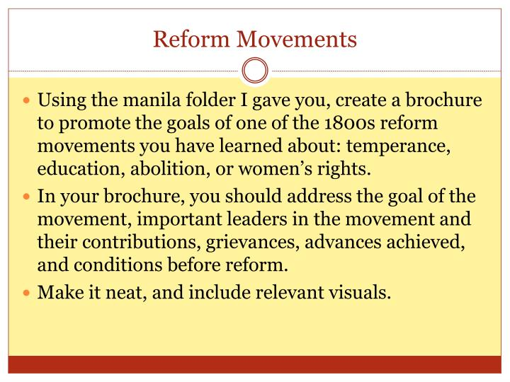 revivalism and social reform Revivalism and reform • prisons –different approach to criminal justice –enlightenment's ideals •isolated, repent, and reform  they found a field of activity in social reform movements • women began to organize, speak out in public, and question status • men were typically the leaders but.