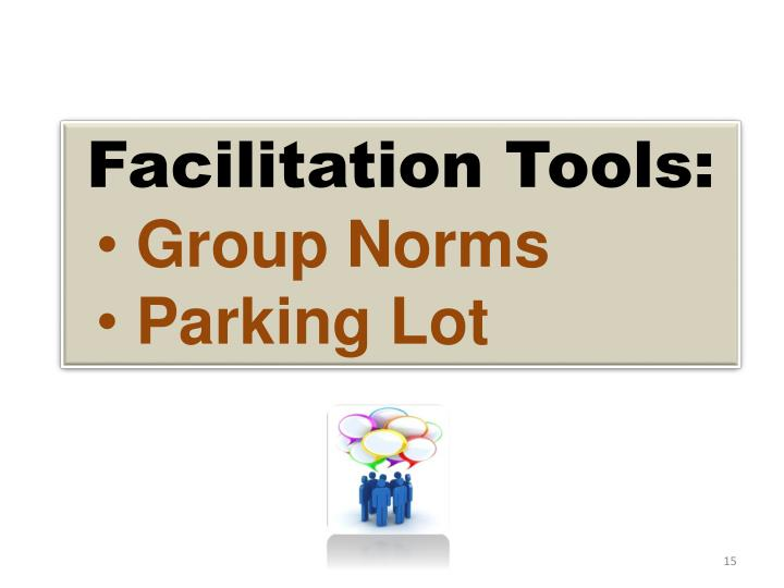 Facilitation Tools: