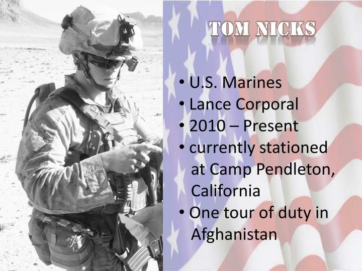 Tom Nicks