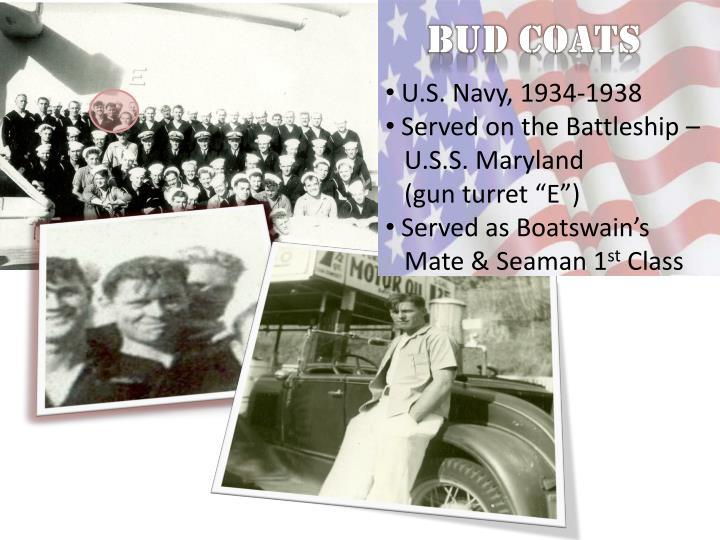 Bud Coats