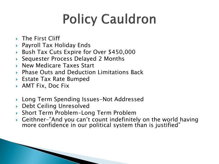 Policy Cauldron